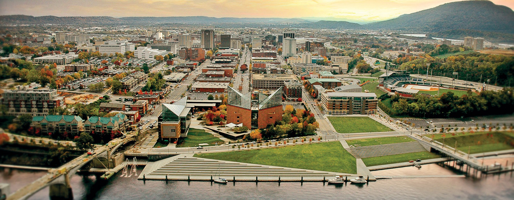 Chattanooga river front
